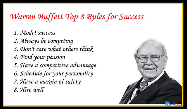 Warren Buffett Top 8 inspiring Rules for Success