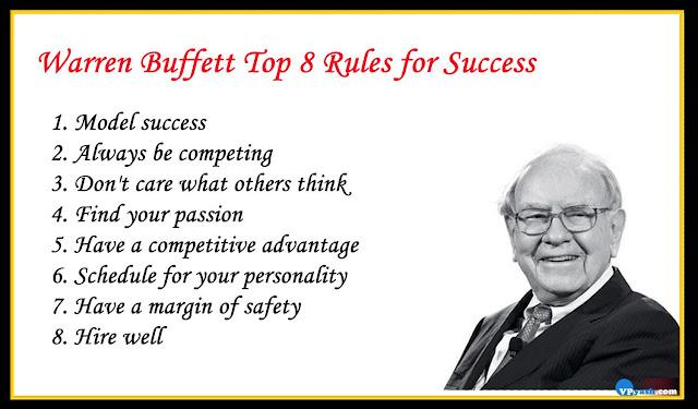 Warren Buffett Top 8 inspiring Rules for Success