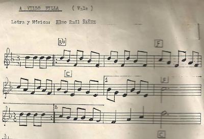 A Vilio Filla de Elmo R. Ñáñez Partituras de Flauta, Violín, Piano, Clarinete, Saxo Alto, Trompeta, Clarinete, Trombón, Chelo, Fagot, Viola, Oboe, Soprano Sax, Saxofón Tenor, Tuba...