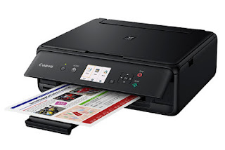 PIXMA TS5053 is printer that has 5 distinctive ink cartridges. Each shading, including the dark, has single ink container. Certainly, this is a suitable advantage of this printer. With this element, then you can spare your cash money. Generally, printer has same cartridge for the shading inks, so when among the colors has actually run out, you have to replace the whole container. In this printer, you don't need to do as such. You just need to replace the unfilled one, and it is proficient. In addition, the ink containers has high restriction that will certainly make printing even more successful as well as effective.  Like Canon PIXMA MG6240, the Canon PIXMA TS5053 furthermore has terrific element in accessibility. With this printer, publishing your photographs won't be troublesome. You don't have to trade the photographs from your gizmo or video camera to your PC initially. This printer currently offers you SD card room and you can print specifically by reaching the boards from the display. This printer in addition as of now supports printing particularly from specific video cameras that already backings remote schedule. Certainly, this will certainly likewise be terrific benefit. Going over quality, Canon PIXMA TS5053 is the excellent one. This printer will just give you satisfaction in printing.  With the 5 separated ink cartridges and technology of FINE cartridge, then printing pictures, images and messages is anything yet difficult to do. The printing results will certainly be so wonderful. The most recent sensible house printer for shading printing, replicating and also analyzing for record printing. Primary technology for print high quality. PIXMA TS5053 arrangement FINE inkjet print head and 5 solitary inks each print prints in a precarious information is remarkable. Much more decreased compared to the past, provided the printer for PIXMA TS5053 arrangement includes different applications as well as brand-new elements including report erasure upgrade for you, literally turn the front board and the back paper urge for quick, handy printing of all documents.  Experience a lean, space-sparing structure determine approx 40% littler than previous versions *. Astute separating surfaces, adjusted corners and also decreasing shapes make the printer's now little casing seem much littler. A charming growth to any kind of work area or office. PIXMA TS5050 Series' implicit Wi-Fi indicates you could publish from your eager gizmo or COMPUTER with assistance for Android, iphone, Google Cloud Print and also Windows 10 Mobile. You can also share all your most loved mins from your Wi-Fi empowered cam, or using the intrinsic SD card room.  Modest value, unsurpassed advancement. PIXMA TS5050 Series' FINE inkjet print head as well as 5 single inks print each photograph in fantastically complicated point of interest. Catch your most liked online social networking breaks as a result of PIXMA Cloud Web link as well as square paper reinforce. Download the Canon print application and print straightforwardly from Facebook as well as Instagram using Canon's 13 × 13 centimeters (5 ″ x5 ″) Photo Paper.  PIXMA TS5050 Series is quick and basic to utilize because of an overhauled UI. From the printer program to the Canon PRINT application, you could now appreciate predictable printing and checking with all your photos and archives. More minimized than any time in recent memory, PIXMA TS5050 Series incorporates a resolution of fresh out of package new components including a report evacuation upgrade, literally tilt front board and also a back paper sustain for fast, advantageous printing.