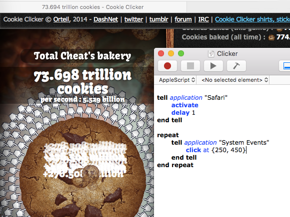 Exsulto Corp: Cookie Cheater