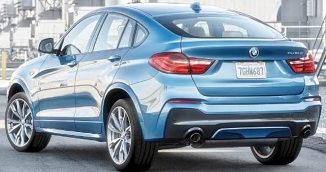 2018 BMW X4 Redesign