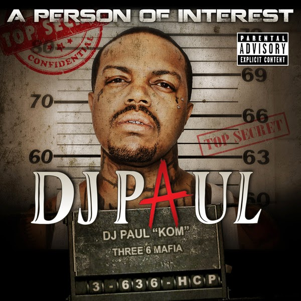 DJ Paul - A Person of Interest Cover