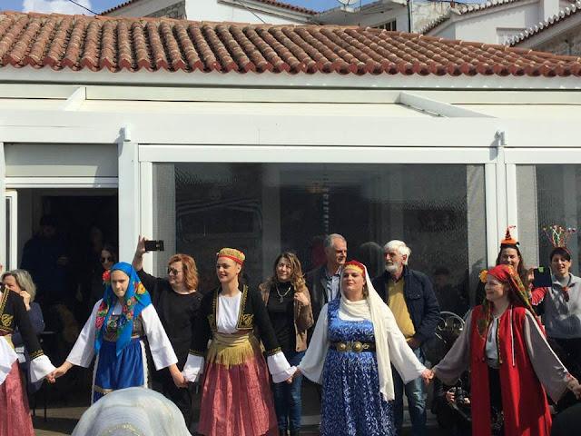 Γ. Γκιόλας: Η Ερμιονίδα υποδέχτηκε την αποκριά με το παραδοσιακό γαϊτανάκι, ταμπούρλα, κλαρίνα και χορό