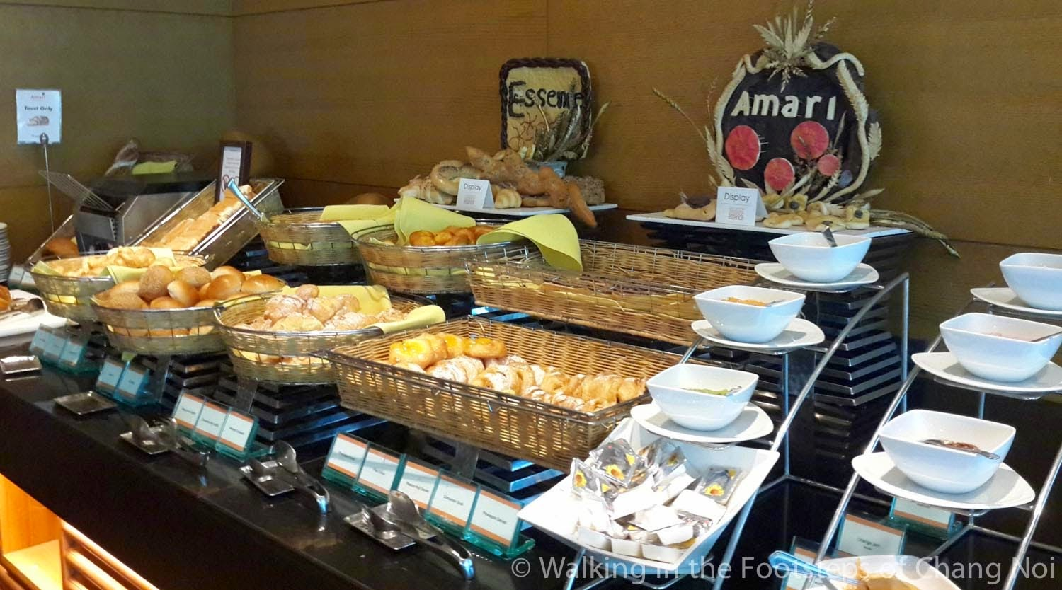 Breakfast at Amari Tower Pattaya