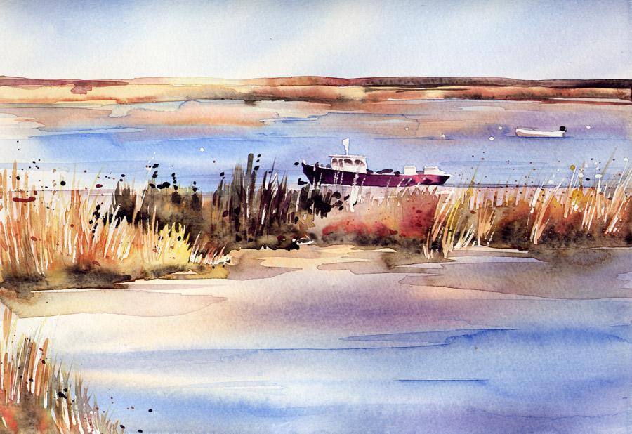 Atelier Petit Gris Paysage De Mer