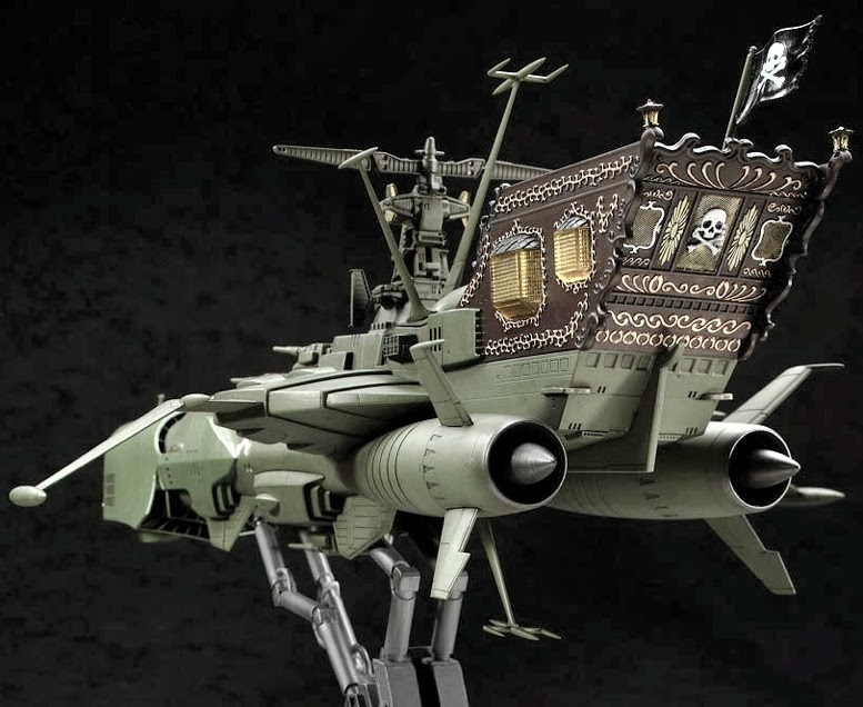 Scale Model News Here S A Kit For Sci Fi And Anime Fans