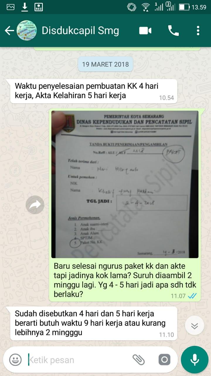Prosedur Cara Mengurus Kartu Keluarga Kk Dan Akta Kelahiran Sekaligus Di Semarang Heri Heryanto