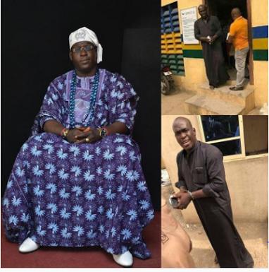 A Man Parading Himself As A Yoruba King Arrested In Lagos