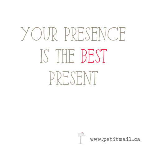 The Gift for Presence