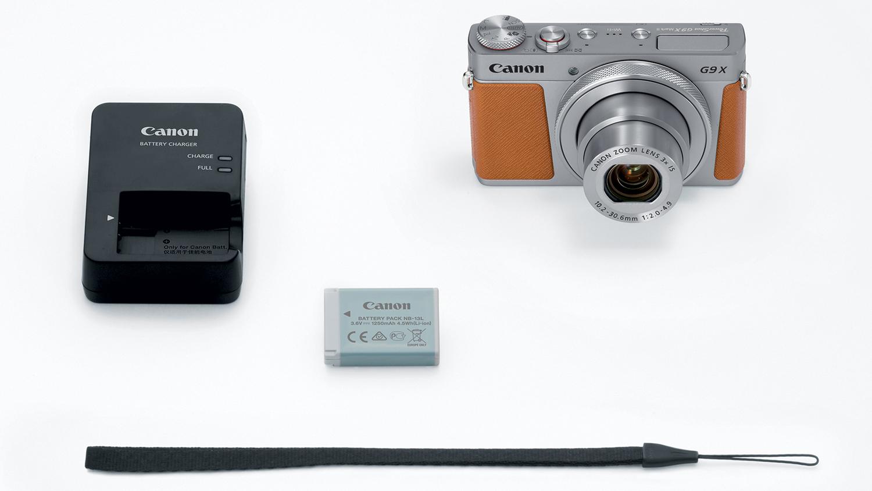 Canon PowerShot G9 X Mark II, комплект поставки