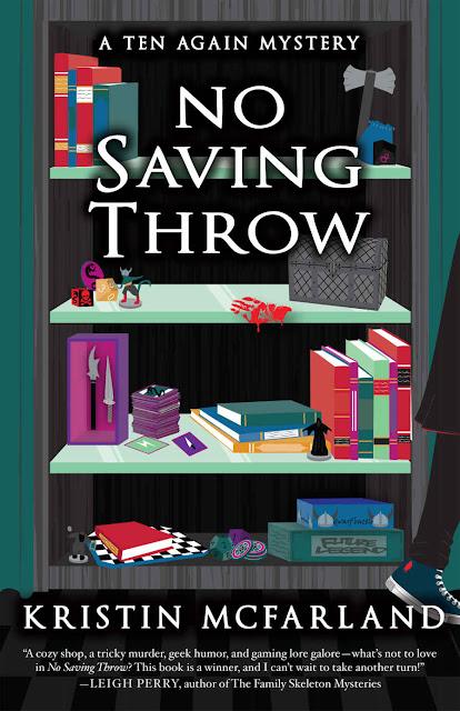 No Saving Throw (A Ten Again Mystery Book 1) by Kristin McFarland