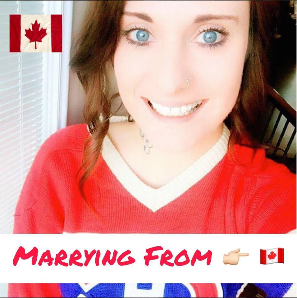 Become Canadian By Marrying From Canadian Girl      - movig in australia