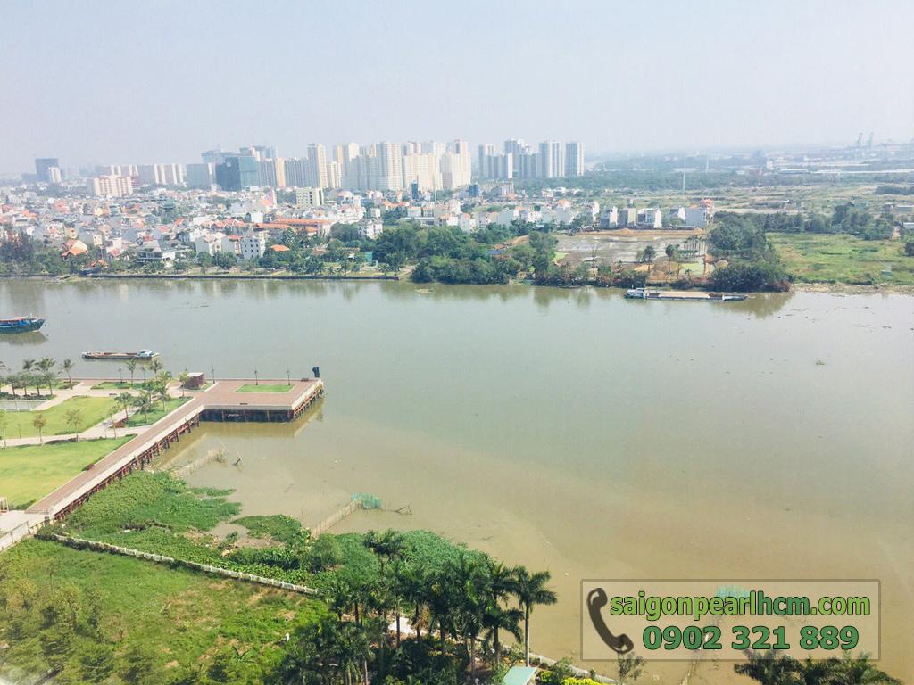 Cho thuê Saigon Pearl căn hộ 4 phòng ngủ 206m2 Ruby 1 view sông Sài Gòn - hình 5