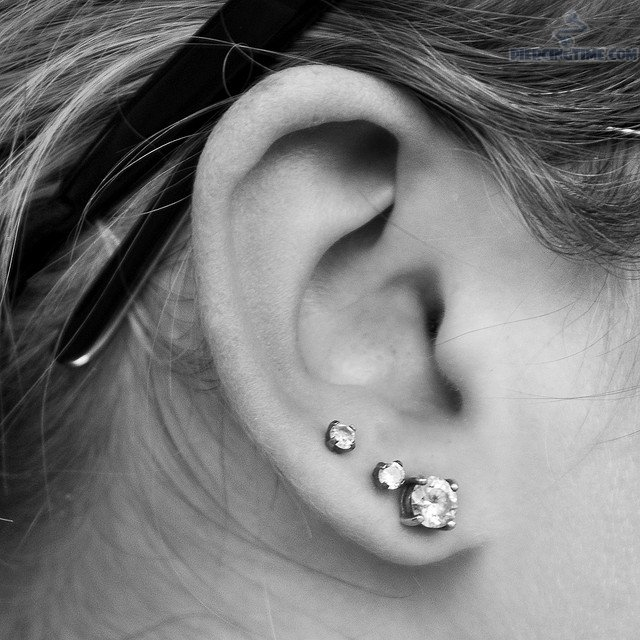 how to get rid of an industrial piercing infection