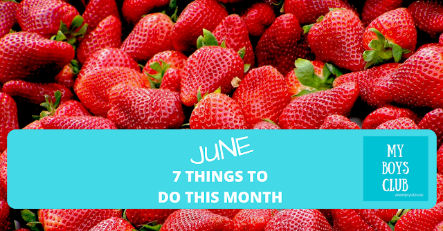 strawberry recipes, family days out, vegetarian food, sunshine in june