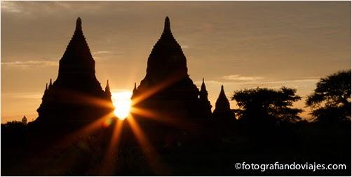 Bagan con efecto estrella, starburst