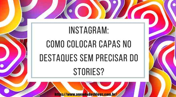 Capa para stories do instagram