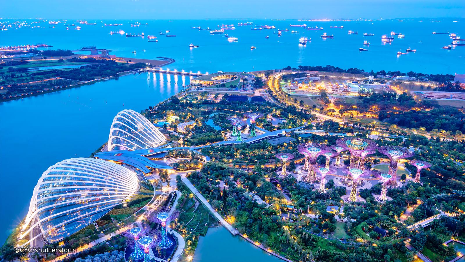 Singapore Staycation Mengintip Indahnya Garden By The Bay Di Singapura