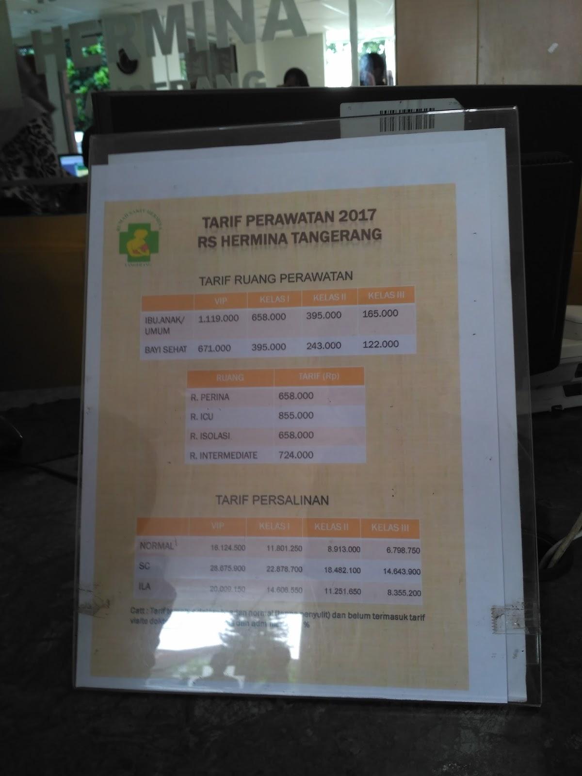 Biaya Persalinan RS Hermina Tangerang | Penaaksi.com ...