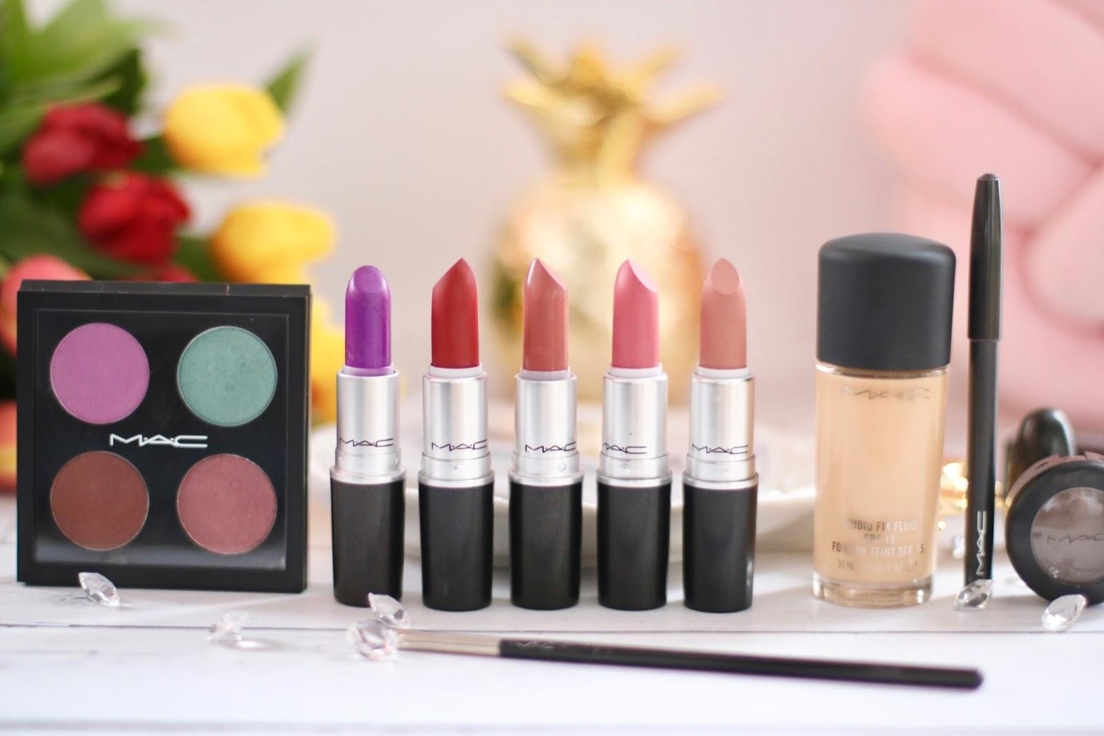 M.A.C. Collection - Moja skromna kolekcja kosmetyków M.A.C.