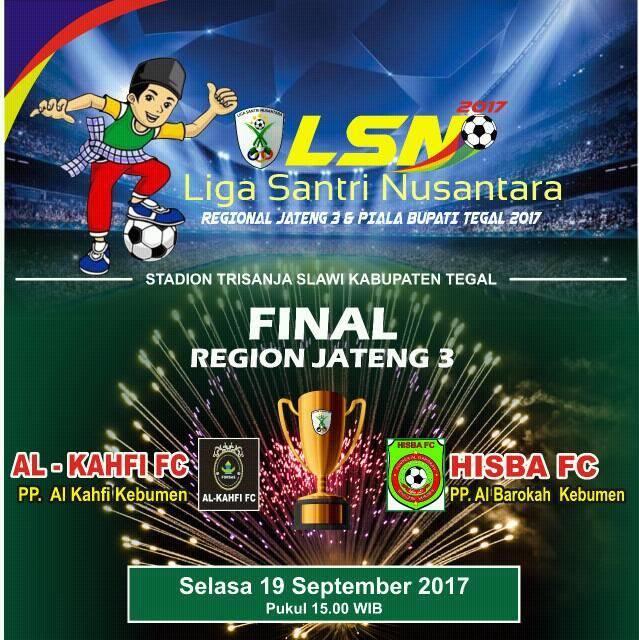 Mantap, Dua Tim Kebumen akan Beradu di Final LSN 2017