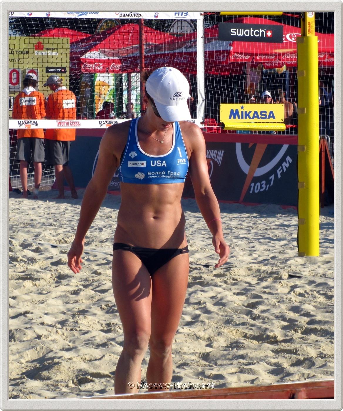 Beach Volleyball Player Brooke Hanson