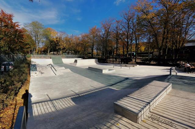 Skatepark Sceaux nouveau