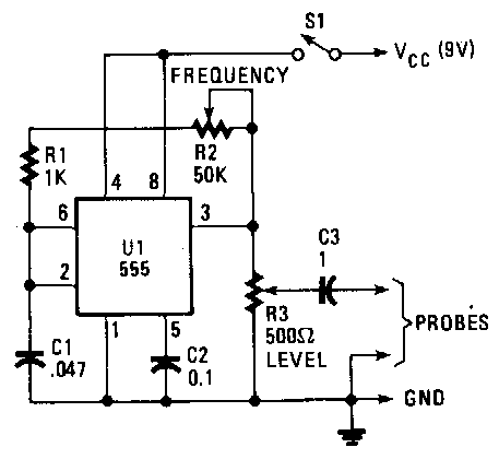 simple signal injector circuit diagram