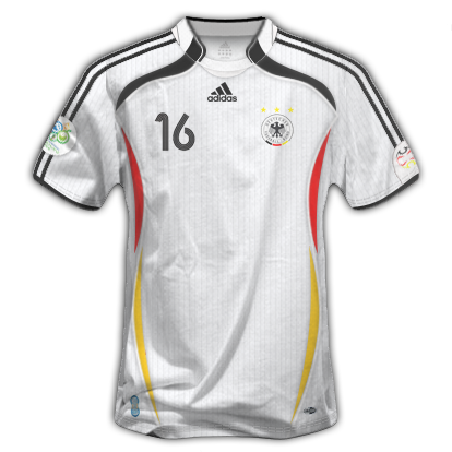 camiseta de alemania mundial 90