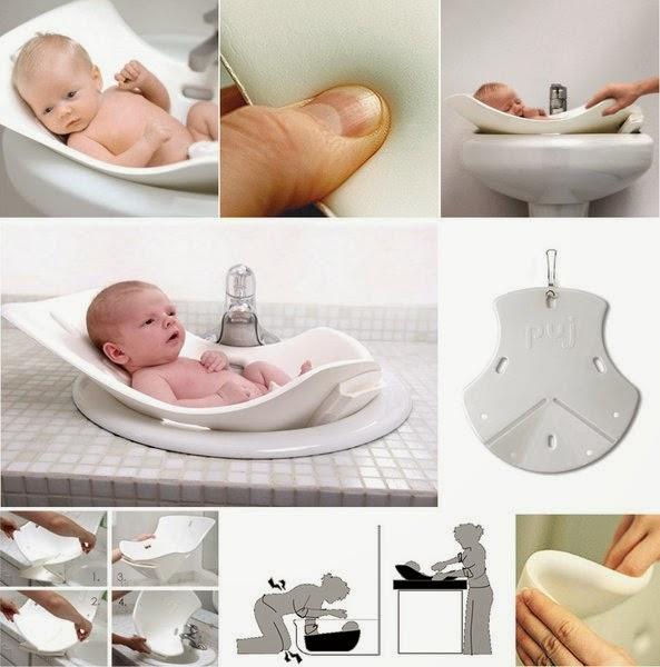 Puj Tub - Soft Infant Bath - Interior Design