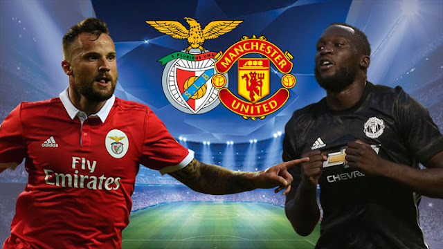 new gersy/ Benfica vs Manchester United: Champions League