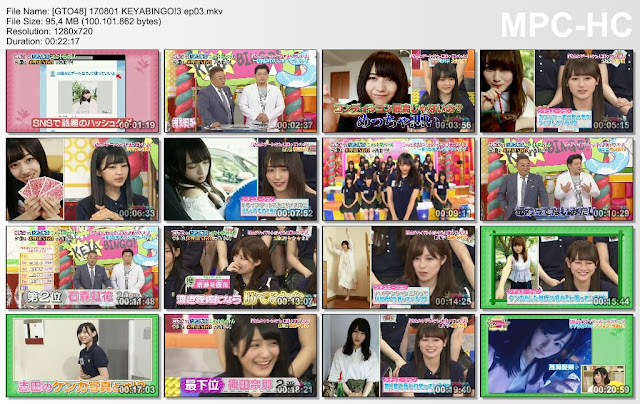 170801 KEYABINGO!3 Ep 03 Subtitle Indonesia