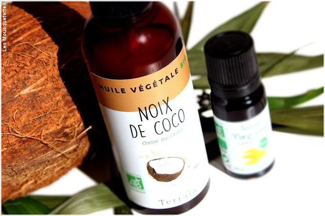 Huile de Noix de Coco cheveux, visage et corps - Terraïa chez Onatera - Blog beauté