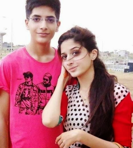Pakistani brother and sister