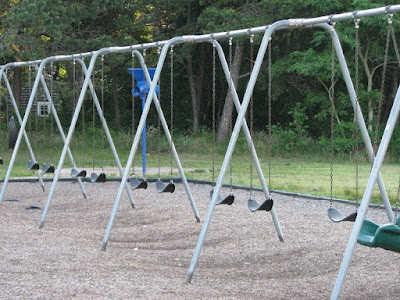 Baker Elementary School Swings