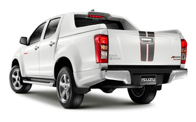 Isuzu D-Max X-Series Back view