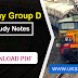 Railway Group D Important  GK Study Notes 2018