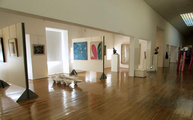 Uma das salas do museu Amadeo Souza Cardoso
