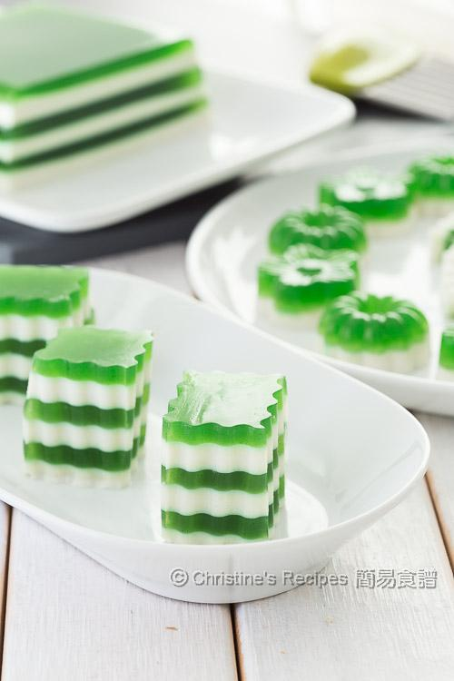 Pandan coconut layered agar jelly christines recipes easy pandan coconut layered agar jelly03 forumfinder Gallery