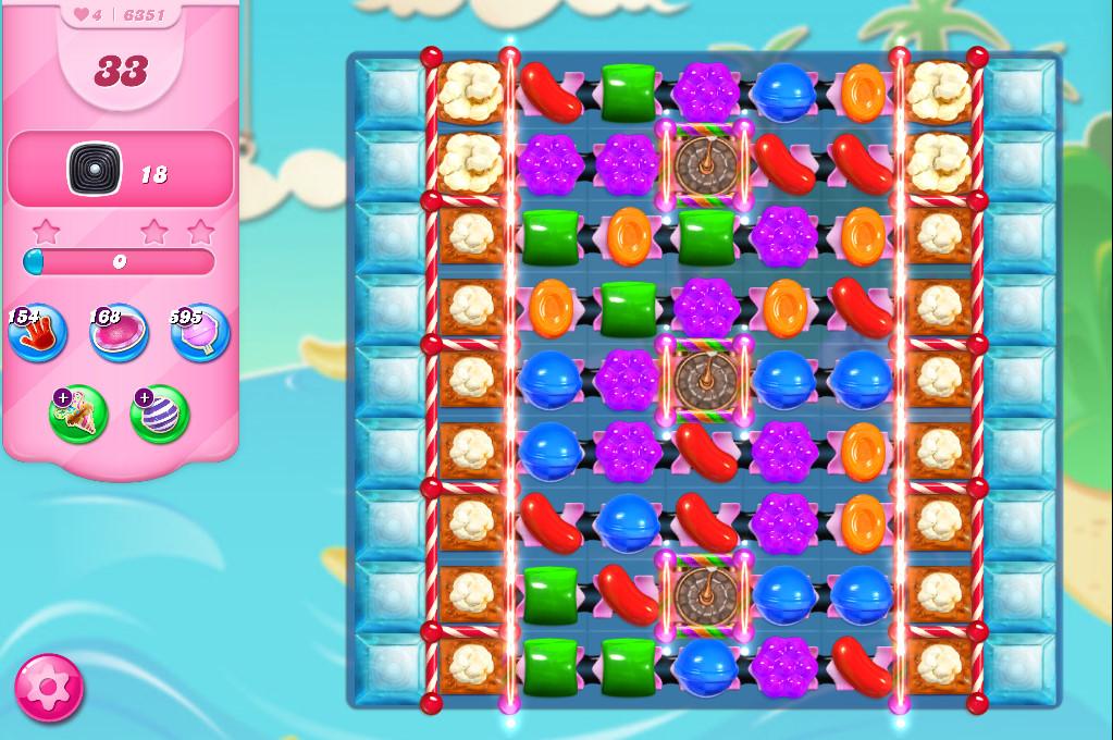 Candy Crush Saga level 6351