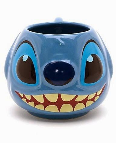 Lilo and Stitch Round Coffee Mug