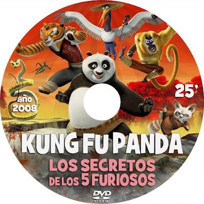 Kung Fu Panda - Los secretos de los 5 furiosos - [2008]