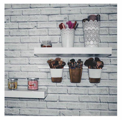 DIY Brush pots / IKEA hack.