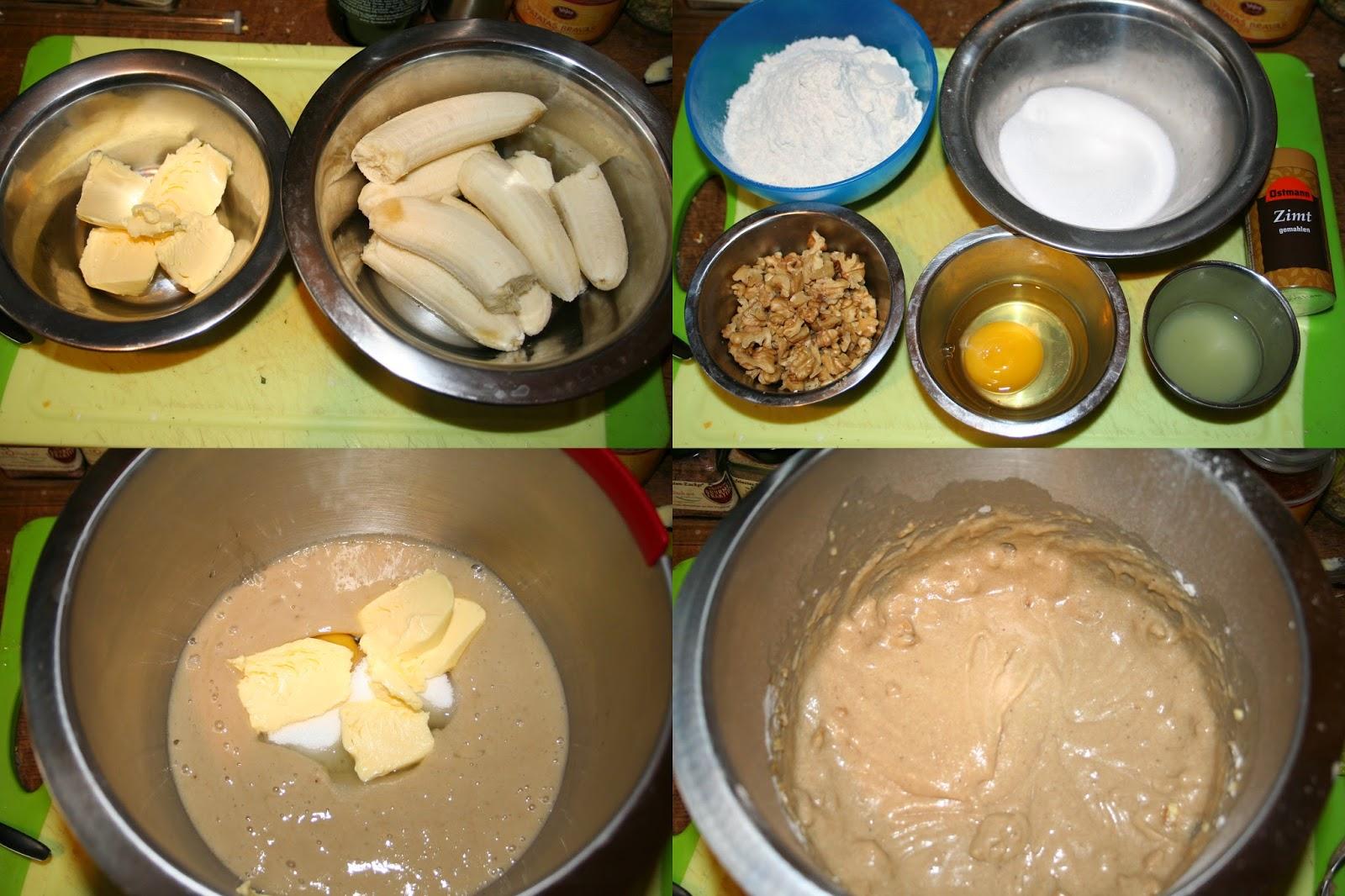 Bananen walnuss kuchen for Kuchen volker hosbach