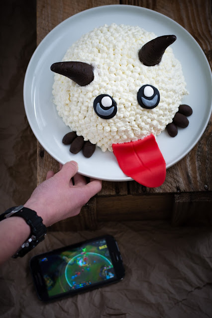 Poro cake, gâteau du jeu League of Legends