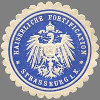 Kaiserliche Fortifikation - Strasbourg