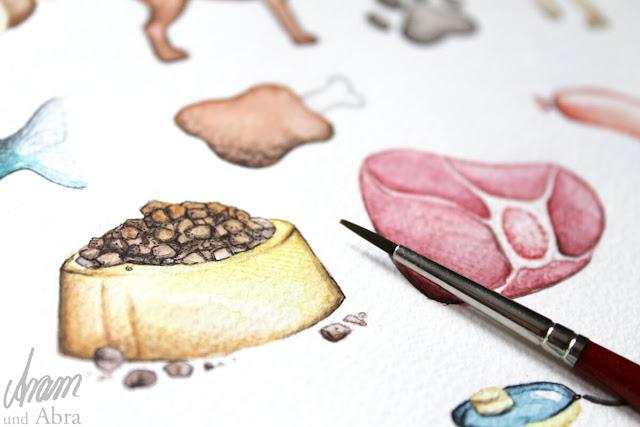 Illustrationen für Hundeblogger
