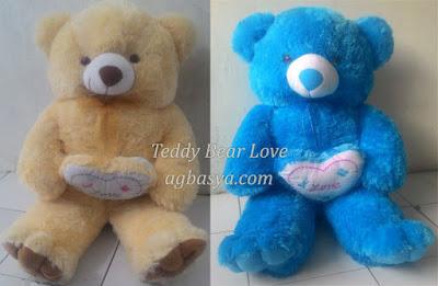 Teddy Bear Boneka Beruang Love Ukuran Jumbo