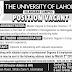 The University of Lahore Islamabad Campus Jobs